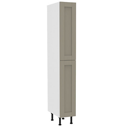 Image for Simply Hygena - Amersham Grey Larder Unit - 300mm from StoreName