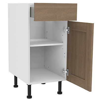 Image for Simply Hygena Amersham - Oak - 400mm Premium Drawer Line Base Unit from StoreName