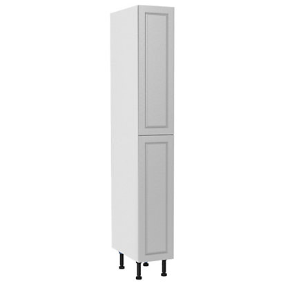 Image for Simply Hygena Elverson - Gloss White - 300mm Larder with Pull Out from StoreName