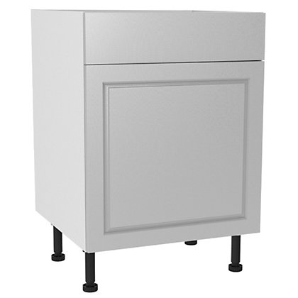 Image for Simply Hygena Elverson - Gloss White - 600mm Standard Drawer Line Base Unit from StoreName