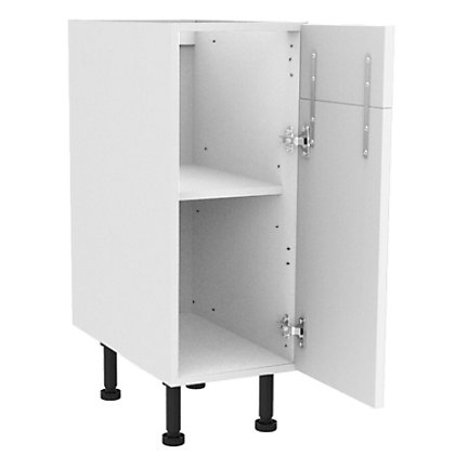 Image for Simply Hygena Chesham - White - 300mm Dummy Drawer Line Base Unit from StoreName