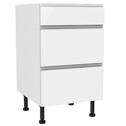 Image for Simply Hygena - Kensal 3 Drawer Base (Premium) - 500mm from StoreName