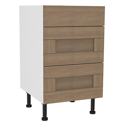 Image for Simply Hygena - Southfield 3 Drawer Base (Premium) - 500mm from StoreName