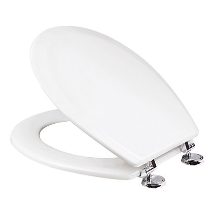 Image for Ripley White Sit-Tight Toilet Seat - Antibacterial from StoreName