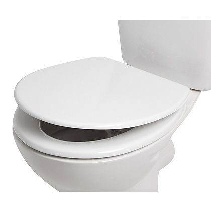 Image for Croydex Dawson Sit-Tight Toilet Seat - Soft Close from StoreName