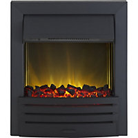 Adam Eclipse Black Electric Inset Fire