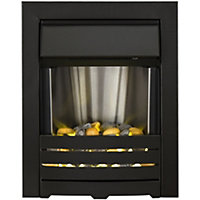 Adam Selene Black Electric Inset Fire