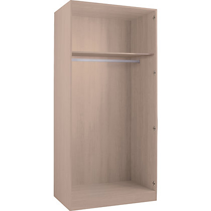 Image for Hygena Double Wardrobe - Oak from StoreName