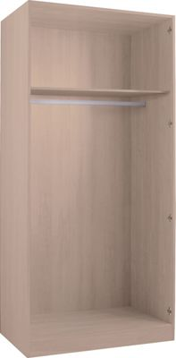 Hygena Double Wardrobe - Oak