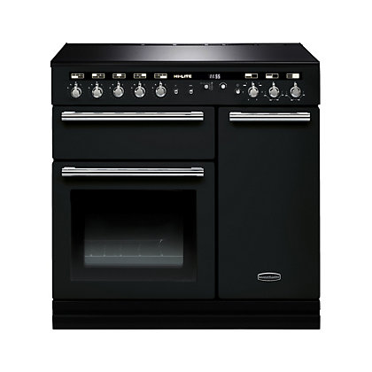 Image for Rangemaster 104410 Hi Lite 90cm Induction Range Cooker - Black & Chrome from StoreName