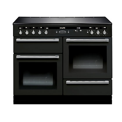 Image for Rangemaster 104480 Hi Lite 110cm Induction Range Cooker - Black & Chrome from StoreName