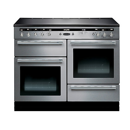 Image for Rangemaster 104520 Hi Lite 110cm Induction Range Cooker - Stainless Steel & Chrome from StoreName