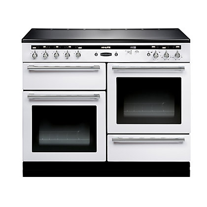 Image for Rangemaster 104530 Hi Lite 110cm Induction Range Cooker - White Chrome from StoreName
