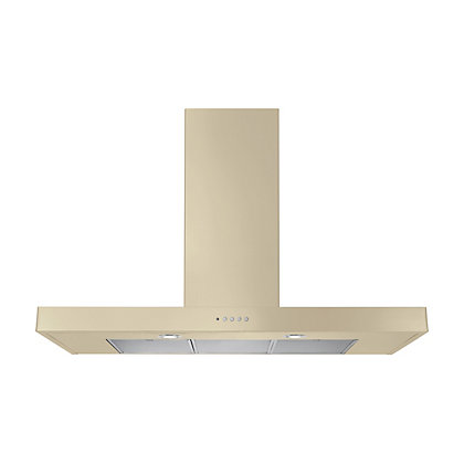 Image for Rangemaster 10534 90cm Flat hood - Cream. from StoreName