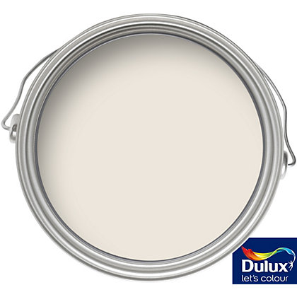 Image for Dulux White Chiffon - Silk Emulsion Paint - 5L from StoreName