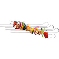 Weber Double BBQ Prong Skewer
