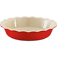 Pie Dish - Red
