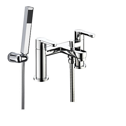 Image for Bristan Nero Bath Shower Mixer Tap Chrome from StoreName