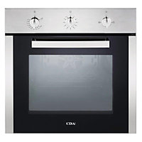 CDA Sg120Ss Single Fanned Gas Oven - Stainless Steel.
