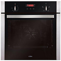 CDA Sk200Ss Single Fan Oven Stainless - Steel.