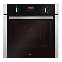 CDA Sk300Ss Single Multifunction Oven - Stainless Steel.