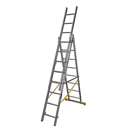 Image for Werner ExtensionPLUS X4 2.41m Triple Box Section Reform Combination Ladder from StoreName