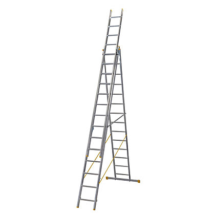 Image for Werner ExtensionPLUS X4 4.09m Triple Box Section Reform Combination Ladder from StoreName