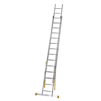 Image for Werner ExtensionPLUS X3 4.09m Double Box Section Reform Combination Ladder from StoreName