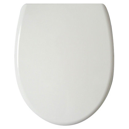 Image for White Soft Close Easy Take Off Toilet Seat from StoreName