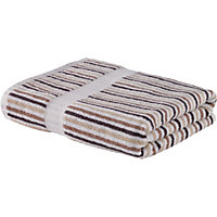 Stripe Hand Towel - Natural