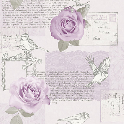 Image for Arthouse Opera Bella Wallpaper - Lilac from StoreName