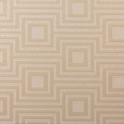 Image for Arthouse Vintage Modena Geometric Wallpaper - Cream from StoreName