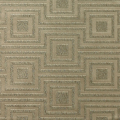 Image for Arthouse Vintage Modena Geometric Wallpaper - Pewter from StoreName