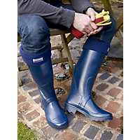 Town and Country Boot Sox - Navy - Large