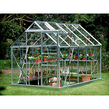 Image for Ambassador Greenhouse Base Pack - Green - 6x10ft from StoreName