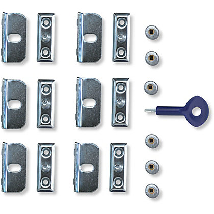 Image for Yale Window Screw lock - 6 Pack from StoreName