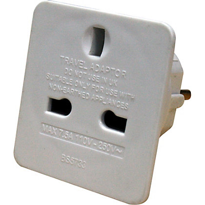 Image for Masterplug Travel Adaptor - UK To Euro from StoreName