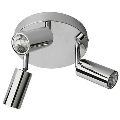 Image for Kara 3 Bar Plate Chrome Spotlight from StoreName
