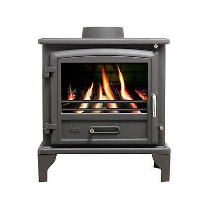 Image for Valor Ridlington Cast-Iron Multi-Fuel 8kW Stove from StoreName
