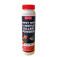 Rentokil Carpet Moth Beetle Killer Powder - 211.6g