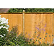 Forest Larchlap Closeboard 0.9m Fence Panel  - Pack of  4