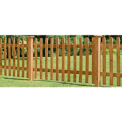 Image for Forest Larchlap Pale 0.9m Fence Panel - Pack of 4 from StoreName