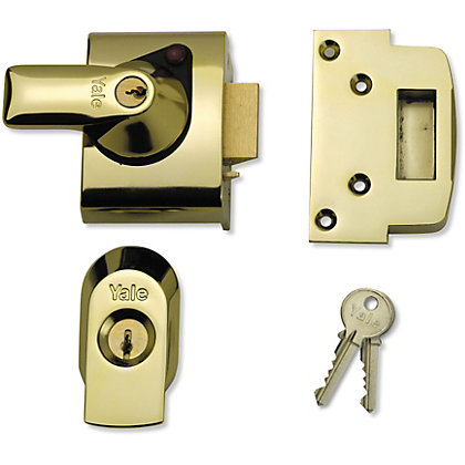 Image for Yale BS2 British Standard Nightlatch 40mm - Brass from StoreName