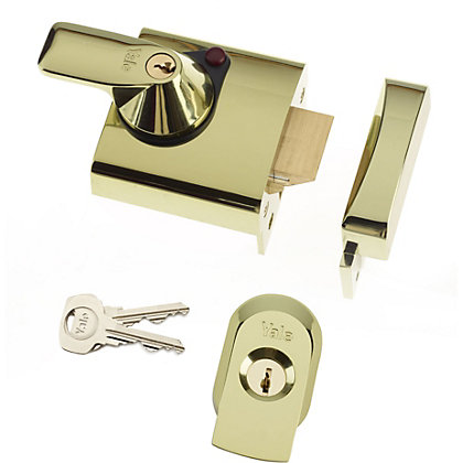 Image for Yale BS1 British Standard Nightlatch 60mm - Brass from StoreName