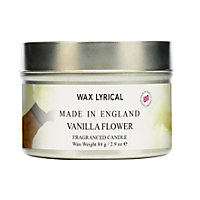 Vanilla Flower Fragranced Candle Tin