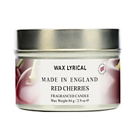Red Cherries Fragranced Candle Tin