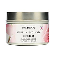 Rose Bud Fragranced Candle Tin