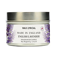 English Lavender Fragranced Candle Tin