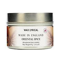 Oriental Spice Fragranced Candle Tin