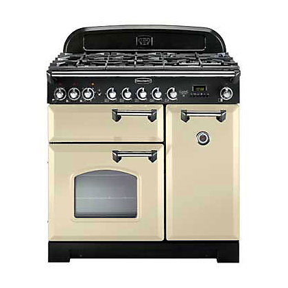 Image for Rangemaster Classic Deluxe 80960 90cm Dual Fuel Cooker - Cream from StoreName